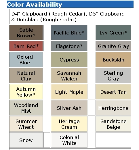 Michigan Vinyl Siding Colors Certainteed Alcoa